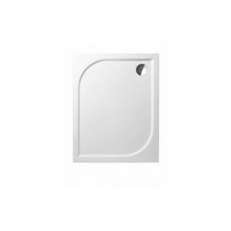 receveur de douche avec cadre 120x80 cm min ral composite blanc like. Black Bedroom Furniture Sets. Home Design Ideas
