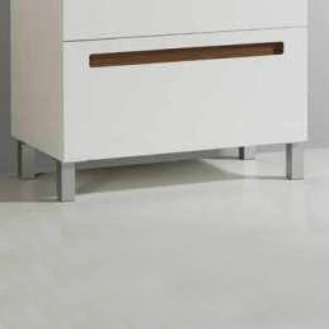Wc Suspendu 4 Pieds lot de 4 pieds aluminium pour meuble de salle de bain 23 cm