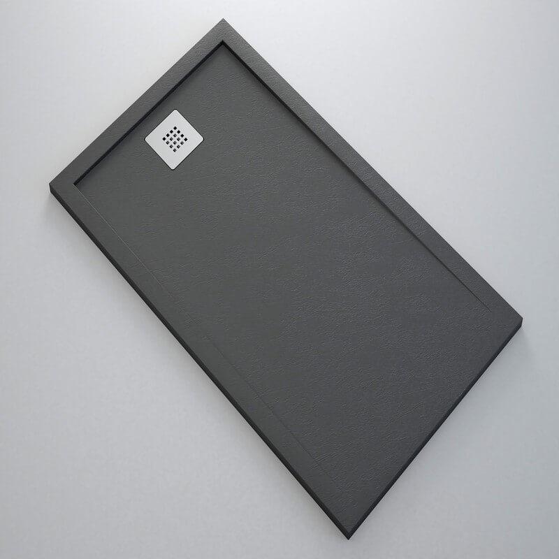 receveur r sine extra plat l ger receveur de douche rue du bain. Black Bedroom Furniture Sets. Home Design Ideas