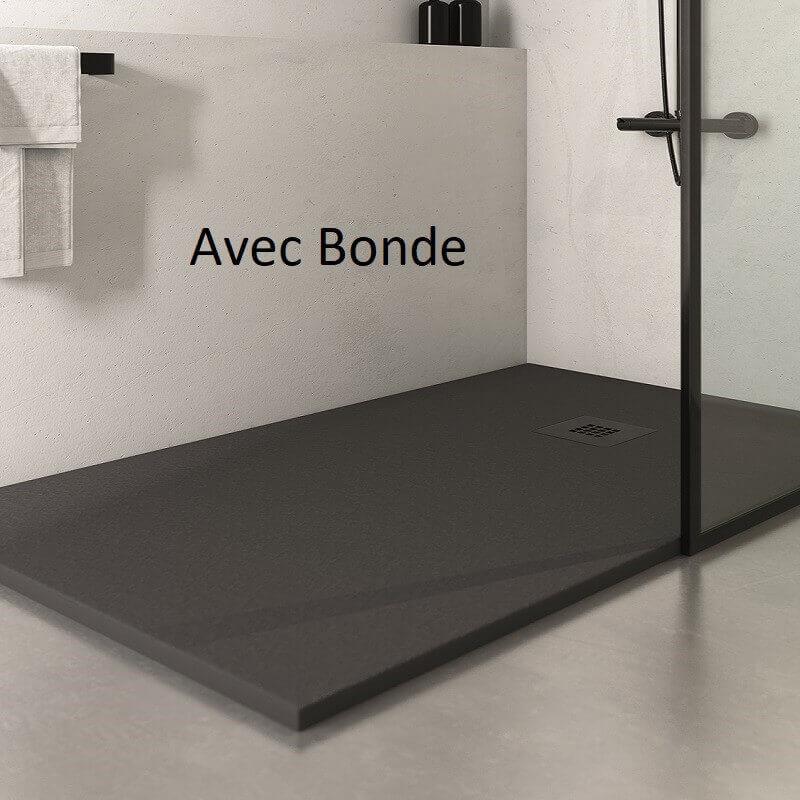 receveur de douche r sine extra plat anthracite receveur. Black Bedroom Furniture Sets. Home Design Ideas