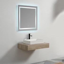 Plan sous vasque - Bois - 90x50 cm - Tendance
