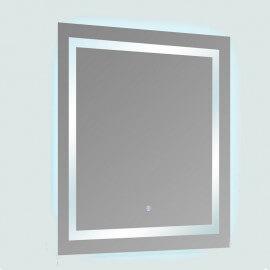 Miroir lumineux de salle de bain Carré - Rétro-éclairage LED - 80x80 cm - Connec't 80