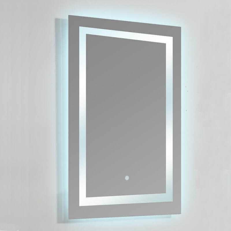 Miroir Salle Bain Rectangle éclairage LED Allumage Tactile