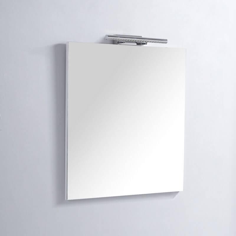 Miroir salle bain rectangle lampe led classic 60 - Lampe led salle de bain ...