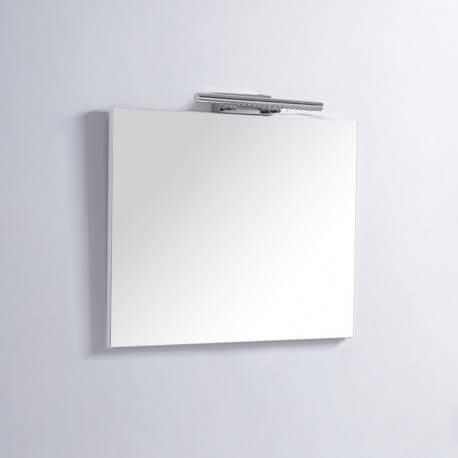 Miroir de salle de bain Carré - 80x80 cm - Lampe LED - Classic 80