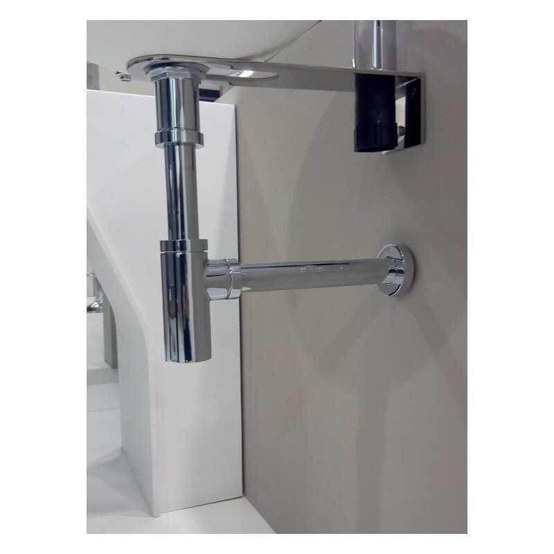 Support fixation vasque inox chrom support et fixation - Fixation meuble suspendu ...