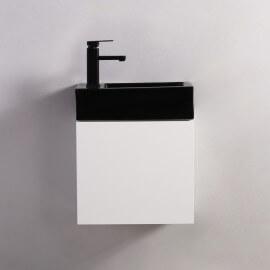 Meuble Lave main - Blanc - City - 45x24 cm - Studio