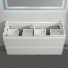 Caisson Meuble de salle de bain 120 cm - Blanc