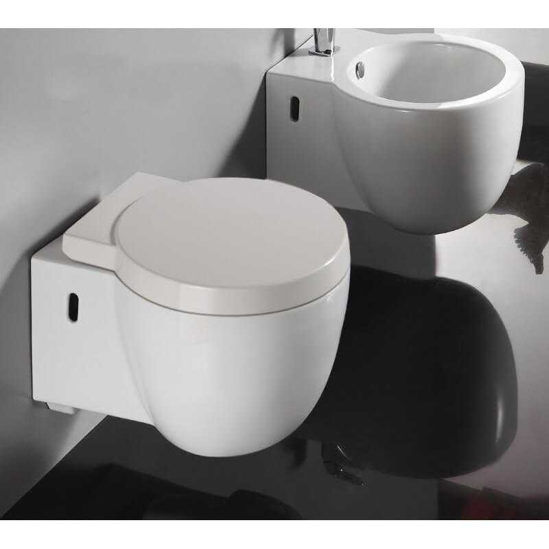 abattant wc design suspendu blanc charm accessoires toilettes design. Black Bedroom Furniture Sets. Home Design Ideas