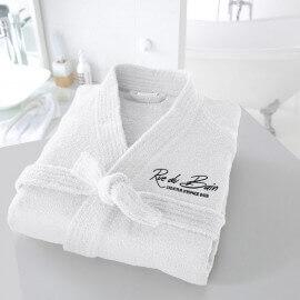 Peignoir de bain - Cocoon - blanc - Rue du Bain