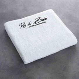 Serviette de bain - Cocoon 140x70 -  Coton - Blanc - Rue du Bain