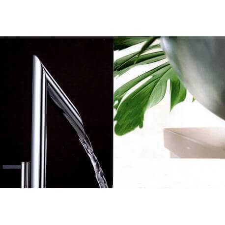robinet mitigeur chromé lavabo design zen | Rue du Bain