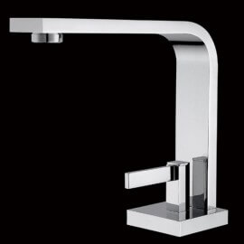 Robinet mitigeur lavabo design chromé sign