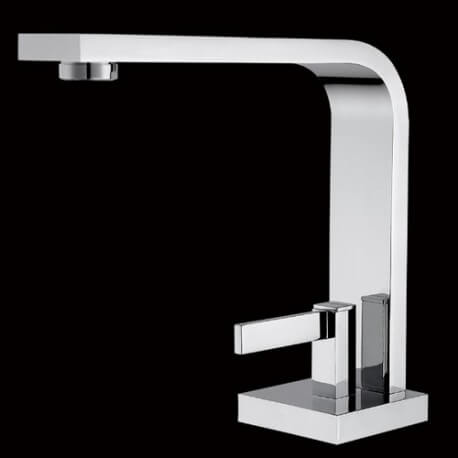 Robinet mitigeur lavabo design chromé Sign | Rue du Bain